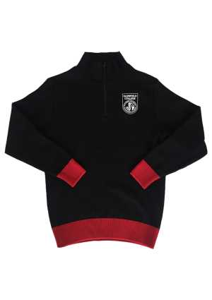 Glenfield College Crew Black/Red